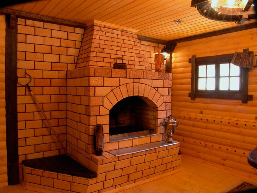 Установка металлической печи в деревянном доме