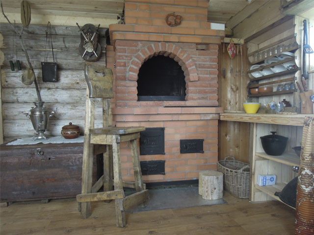 печи в деревянных домах